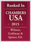 Chambers USA Recognizes 13 Wilentz Attorneys and 5 Firm Practice Areas