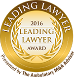 Michael Schaff Selected as Ambulatory M&A Advisor's 2016 Leading Lawyer