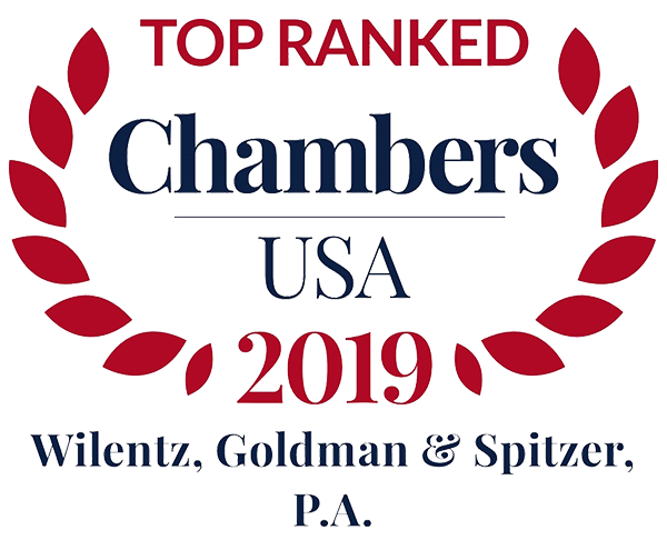 Wilentz Lawyers and Practices Earn Top Rankings from Chambers USA 2019