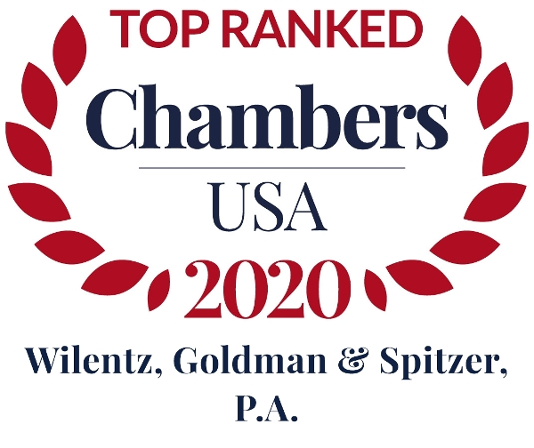 Chambers USA 2020 Recognizes Wilentz as Top Tier Law Firm in New Jersey