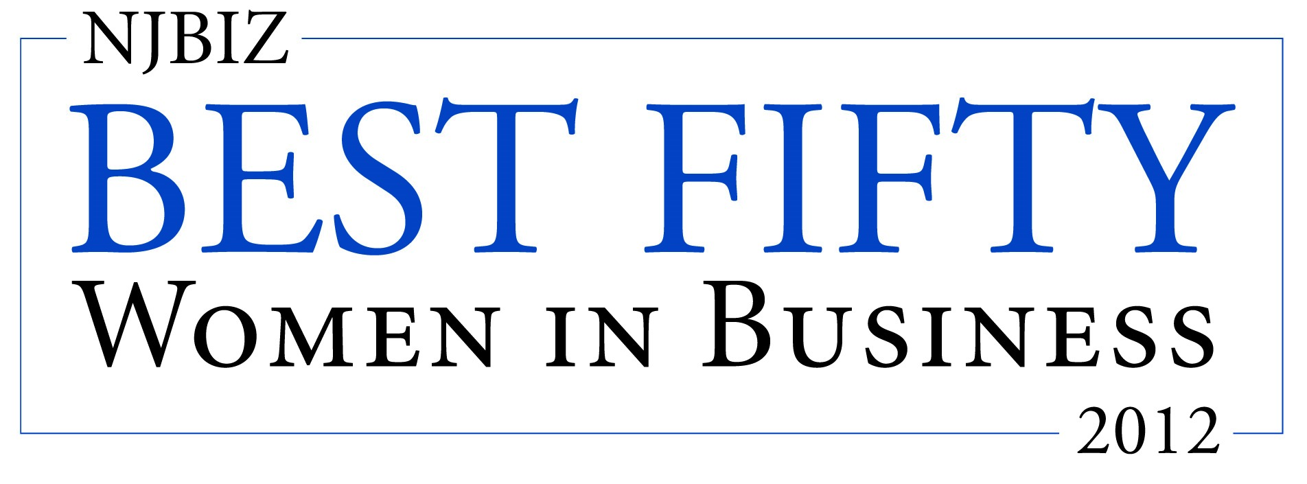 NJBIZ Best 50 Women in Business 2012